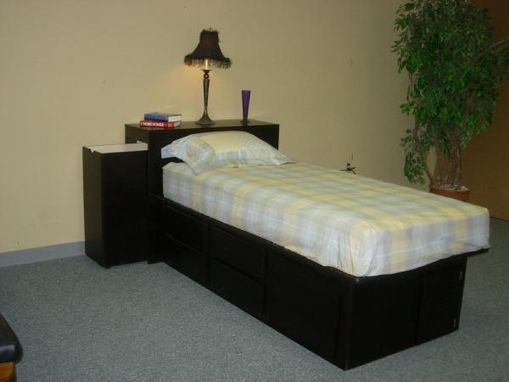 Custom Made Storage Bed
