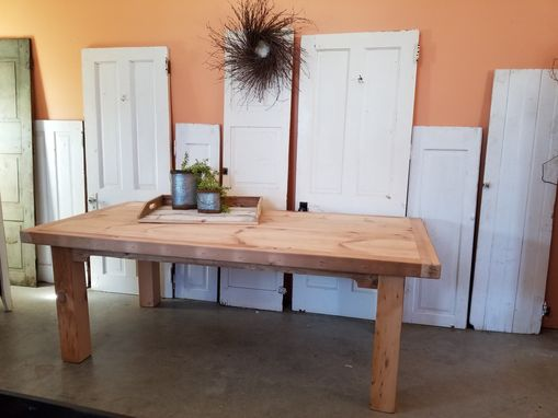 Custom Made 7ft Reclamied Pine Barnwood Table