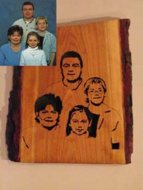 Custom Made Custom Hade Made Wooden Portraits