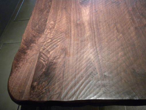 Custom Made Walnut Kitchen Table