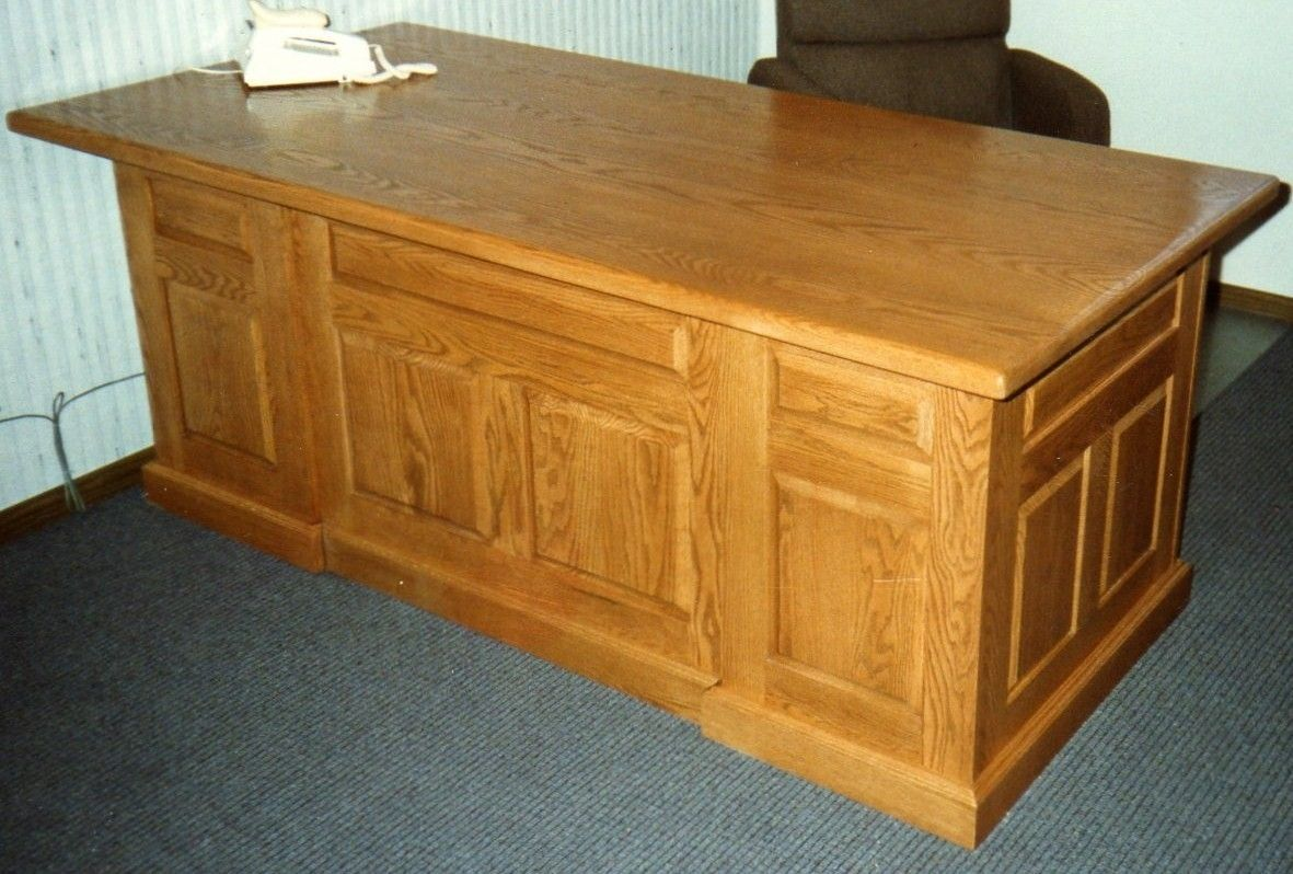 Custom Made Executive Office Desk