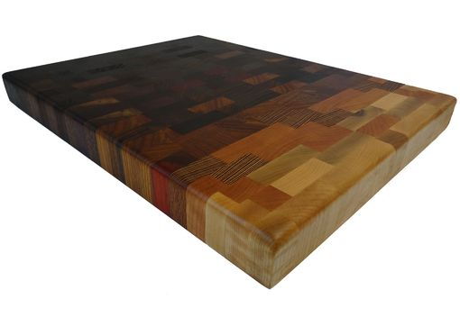 Custom Made Simple But Elegant End Grain Cutting Board