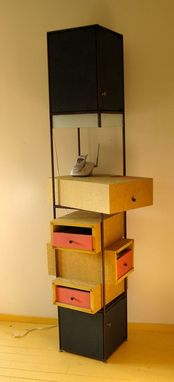 Custom Made 'Pronto!' Freestanding Room Organizer