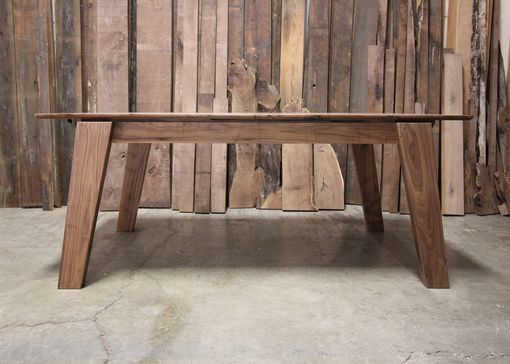 Custom Made 1605 Walnut Dining Table