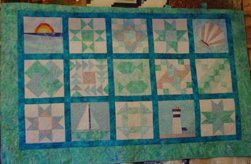 Custom Made Lake House Quilt