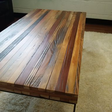 Custom Made Reclaimed Wood Coffee Table