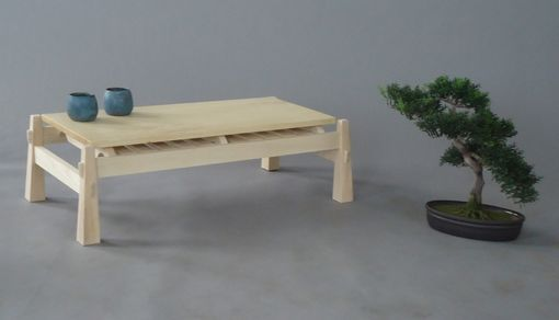 Custom Made Japanese Tea Table