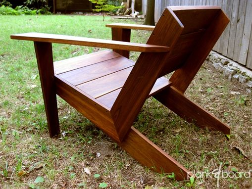 Custom Made Modarondack - Modern Adirondack Chair by Plank ...