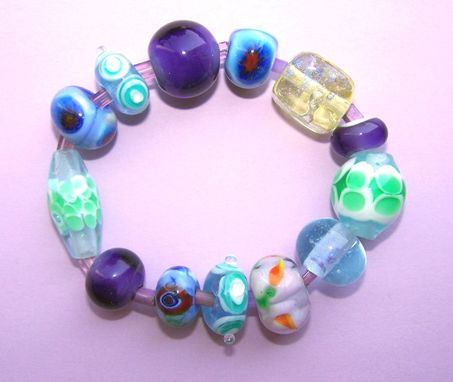 Custom Made Graceful Dixie Lampwork Beads-On Sale