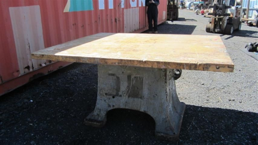 Hand Crafted Large Industrial Kitchen Island by Wild Edge Designs ...