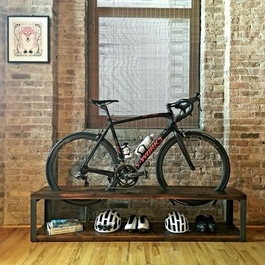 Custom Made Bike Storage Console
