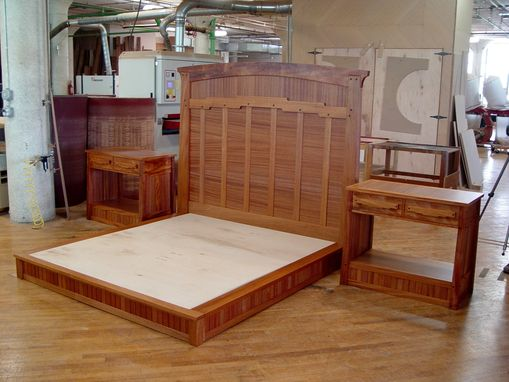 Custom Made Arts & Crafts Bed