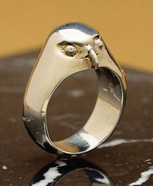 Custom Made Hawk Ring