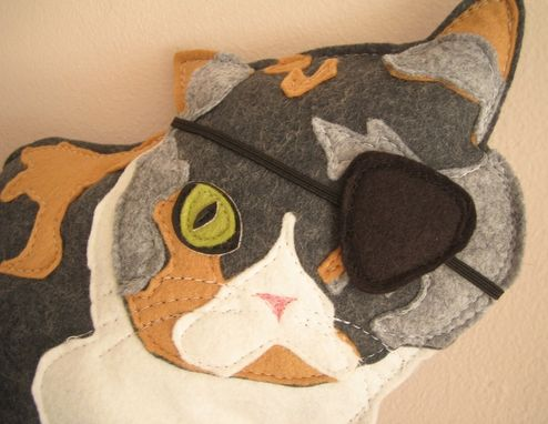 Custom Made Custom Gertrude The One-Eyed Cat Pet Plushie
