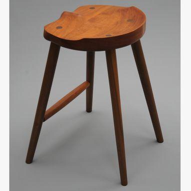 Buy A Custom Made Saddle Seat Bar Stool Counter Height