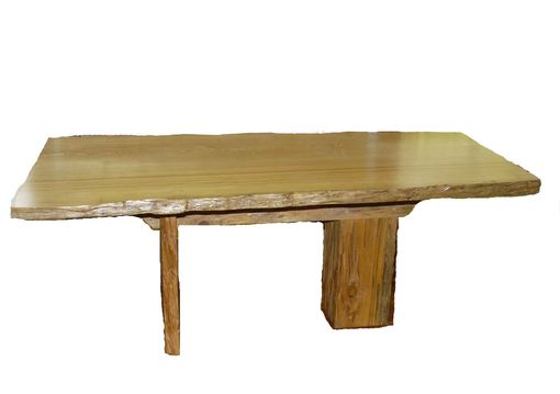 Custom Made Pecky Cypress Old Growth Conference Table