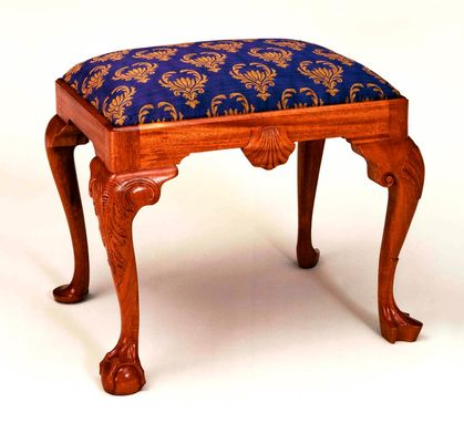 Custom Made Georgian-Era Footstool