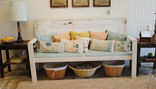 Custom Made Door Bench