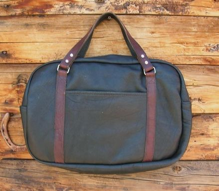 Custom Made Brief Bag Leather