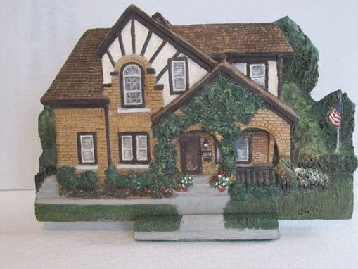 Custom Made Bas-Relief Portrait Of Your Favorite Home Or Place-Small