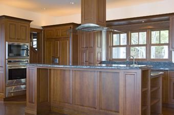 Custom Made Great Diamond Island, Maine Kitchen