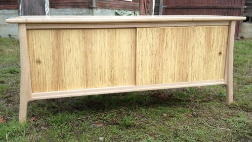 Custom Made Silver Maple Media Cabinet