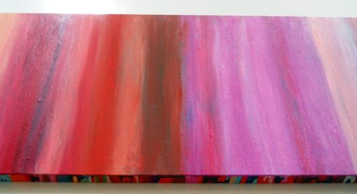 Custom Made Pink Ombre Layers Painting