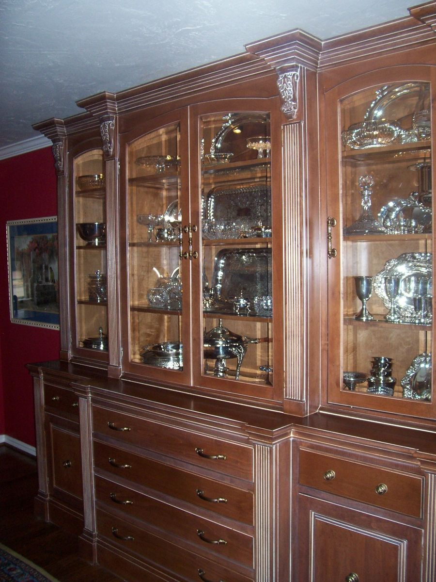 Hand Made China Hutch by Unique Wood Works | CustomMade.com