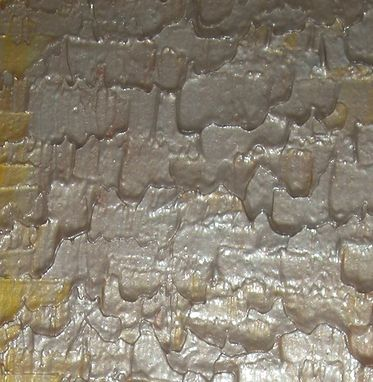 Custom Made Abstract Gold Silver Painting Sale 22% Off