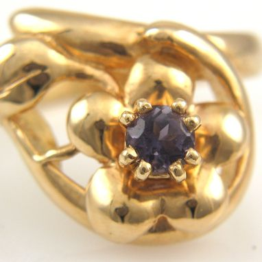 Custom Made 14k Gold Ring With Stone Of Your Choice