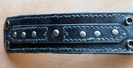 Custom Made Man's Leather Cuff