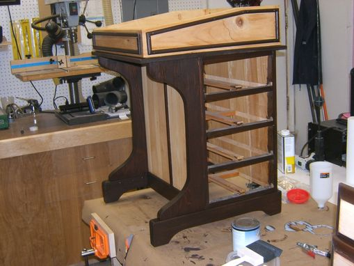 Custom Made Antique School Desk