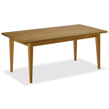 Custom Made Cherry Tapered Shaker Dining Table