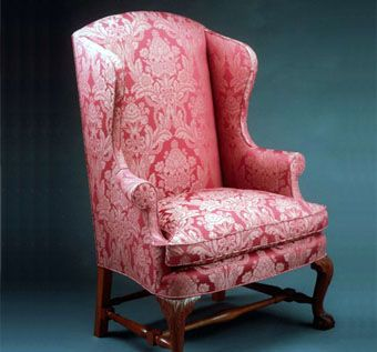 Custom Made Newport Wing Chair