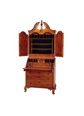 Custom Made Bonnet Top Secretary