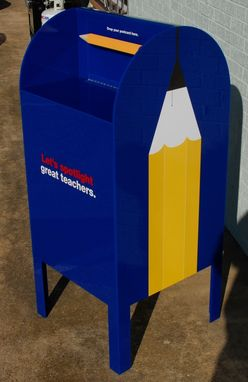 Custom Made Full Size Acrylic Mailbox