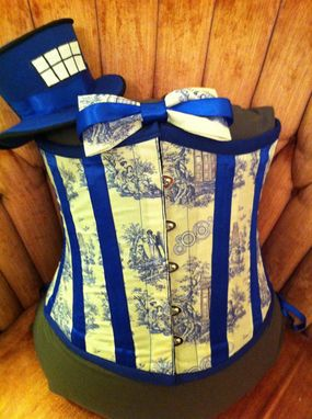Custom Made Doctor Who Themed Corset Bundle