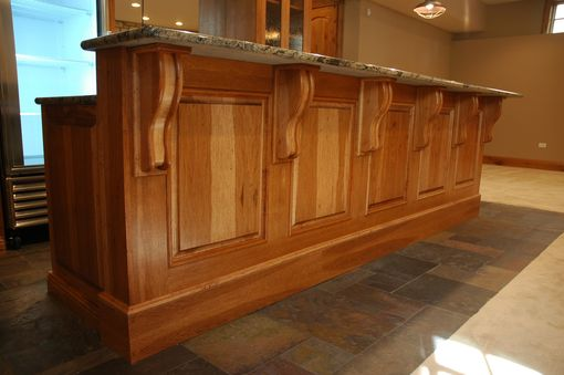 Custom Hickory Cabinets By Custom Corners Llc Custommade Com