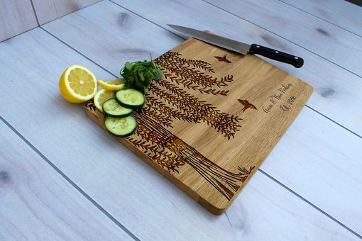 Custom Made Personalized Cutting Board, Engraved Cutting Board, Custom Wedding Gift – Cb-Wo-Anne Ben Perkins