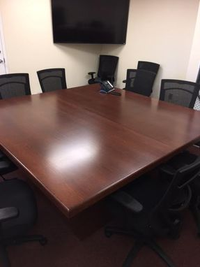 Custom Made 7' X 7' Conference Table