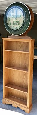 Custom Made Display Or Bookshelf Unit.