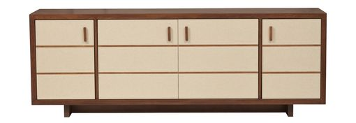 Custom Made Two Tone Modern Sideboard