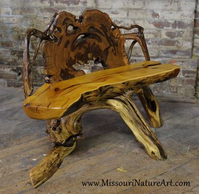 Custom Made Upcycled Driftwood & Rescued Wood Log Benches