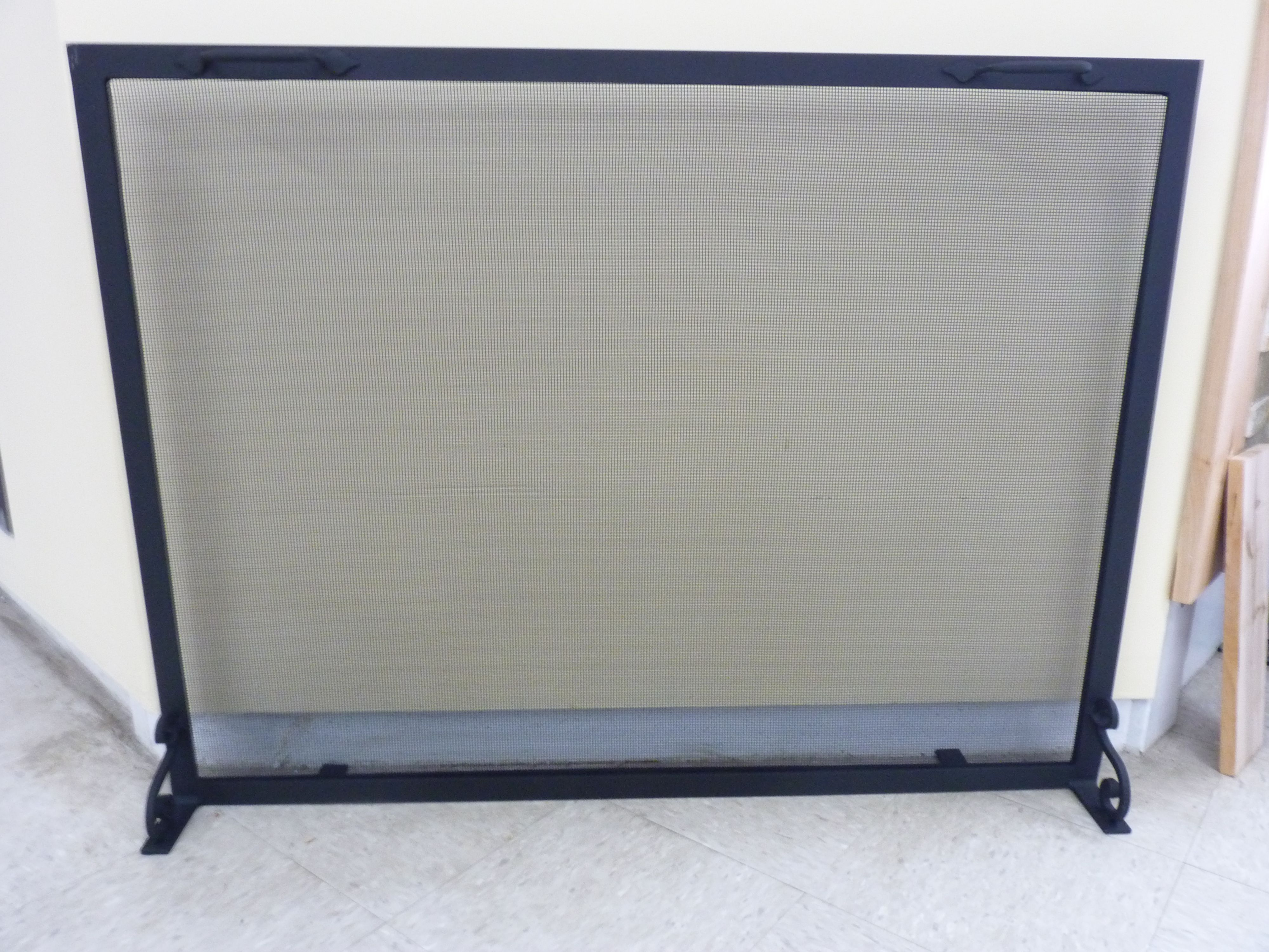 Buy Handmade Custom Fireplace Screens Made To Order From Iron It