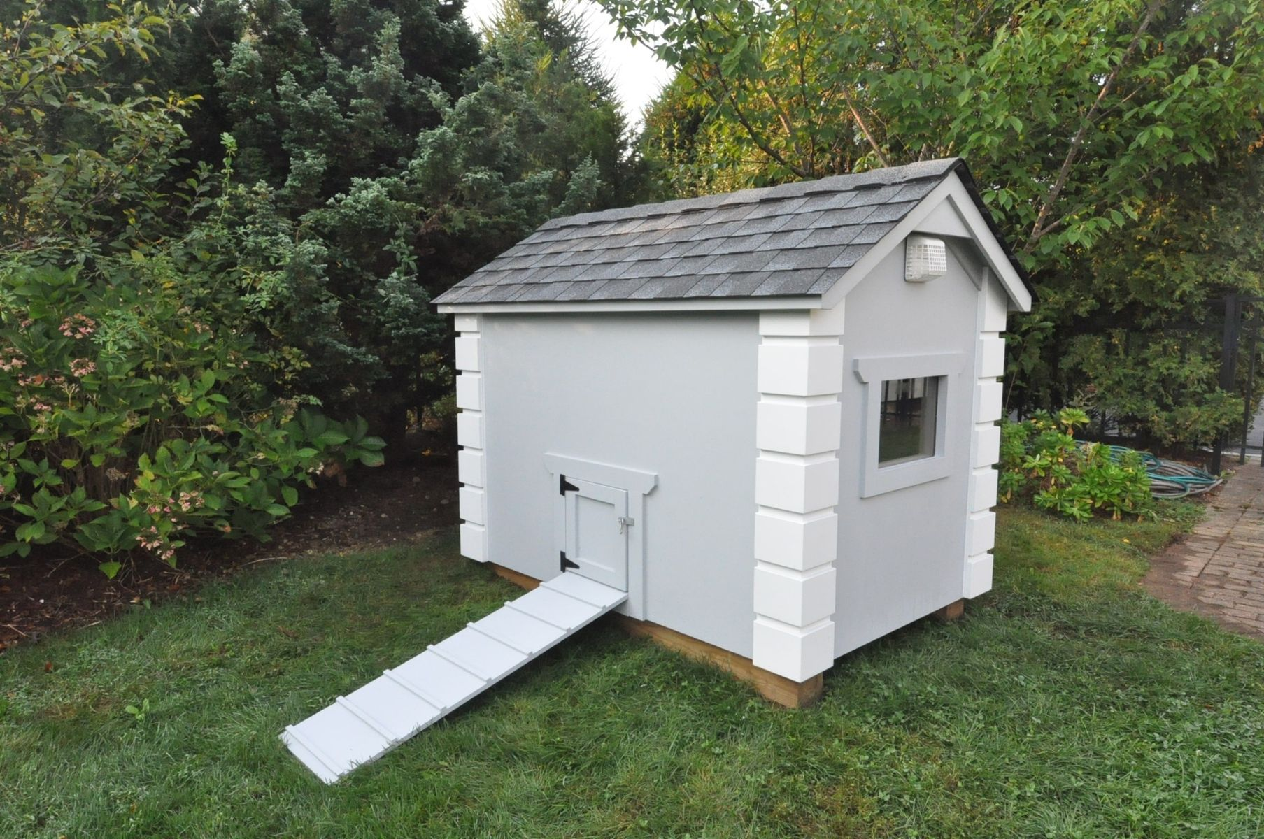 Custom luxury dog house by zci woodworks for What do you need to build a house