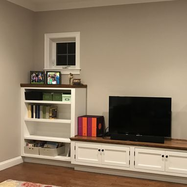 Custom Made Family Room Built-Ins