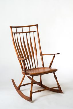 Custom Made Birdcage Rocking Chair