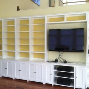 Custom Home Wall Units By Highlands Designs