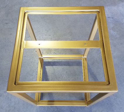 Custom Made Metal Side Table (James)