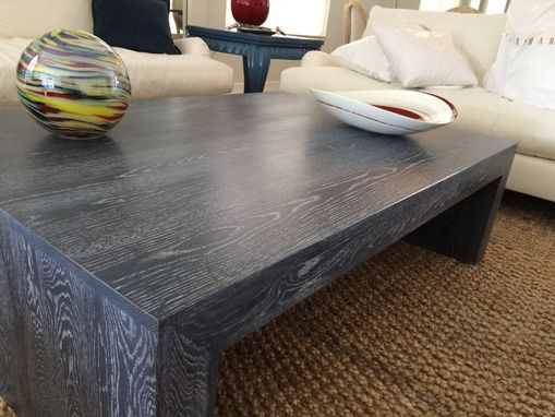 Custom Made Modern Hardwood Coffee Table